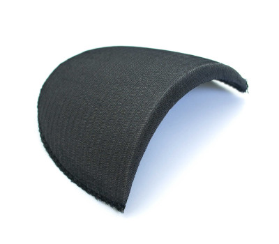Подплечники 10 см*10мм черные