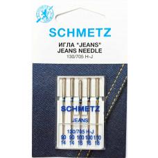 Иглы SCHMETZ Jeans №90-100-110 для БШМ