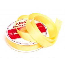 Лента IDEAL репсовая ЛРепс-025 15 мм желтый